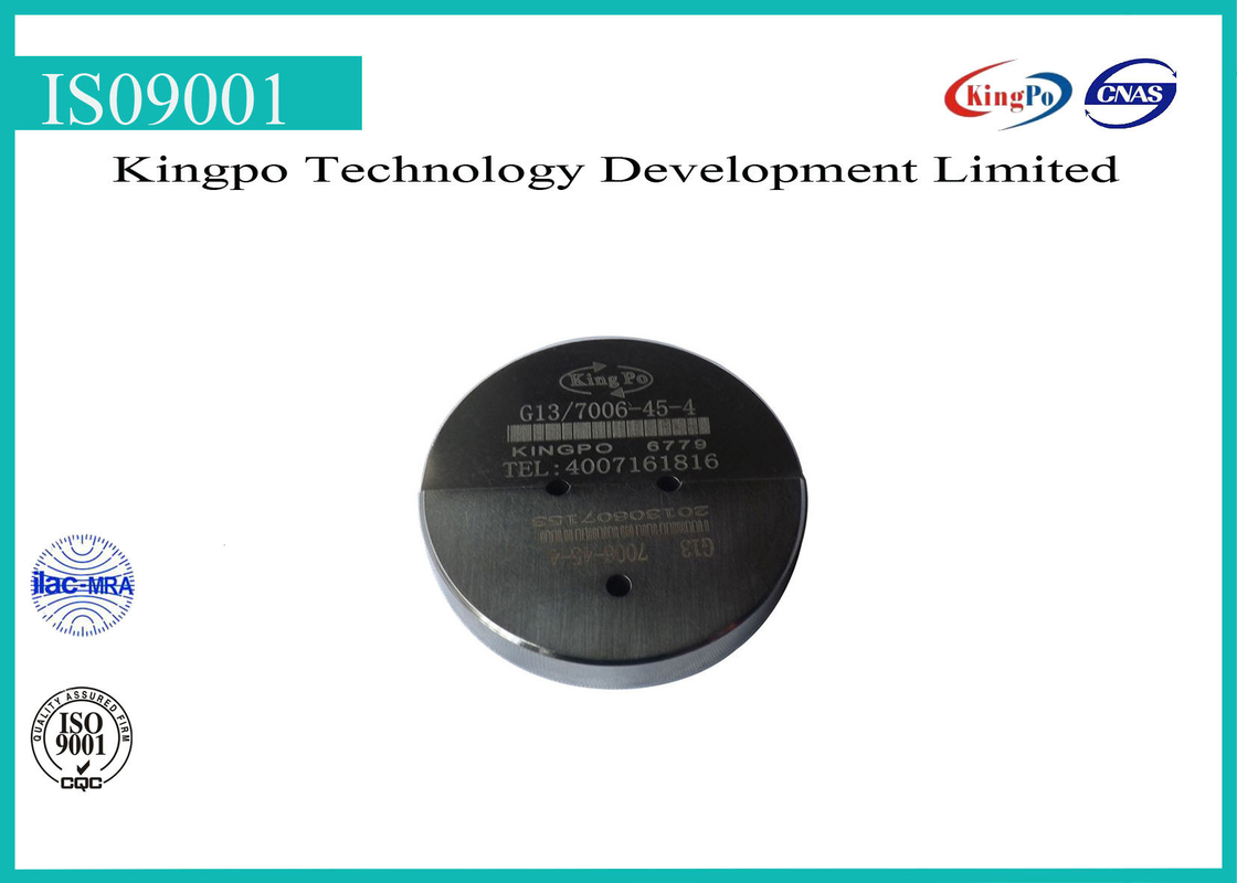 "G13 lamp cap gauge | ""GO"" gauge for bi-pin cap on finished lamps G13-7006-45-4"